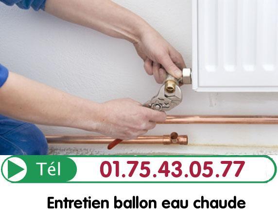 Ballon eau Chaude Oise