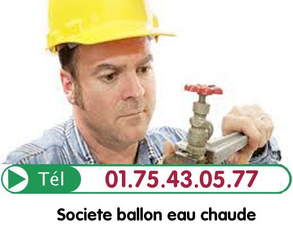 Ballon eau Chaude Paris 1