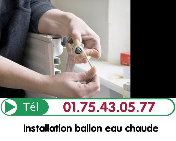 Ballon eau Chaude Paris 18