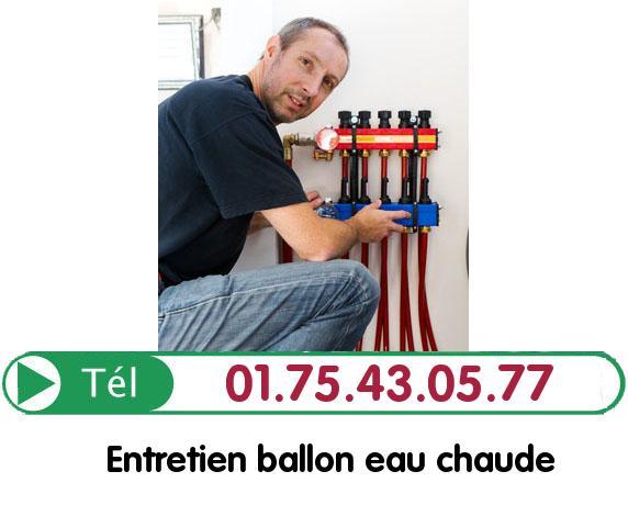 Ballon eau Chaude Paris 19