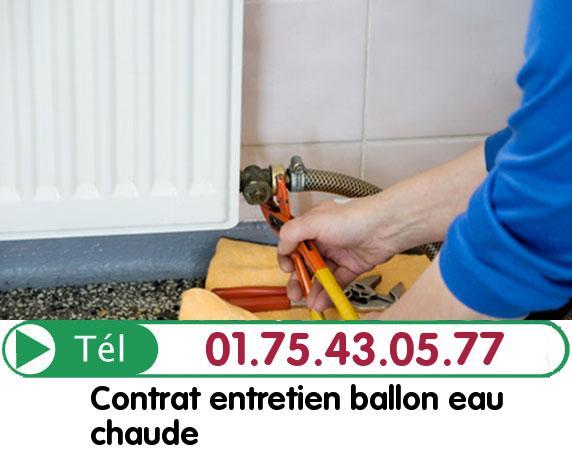 Ballon eau Chaude Paris 20