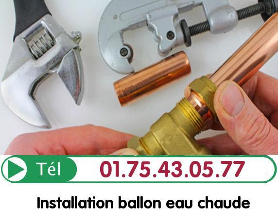Depannage Ballon eau Chaude Beauvais 60000