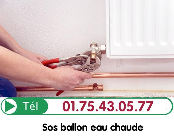 Depannage Ballon eau Chaude Gouvieux 60270