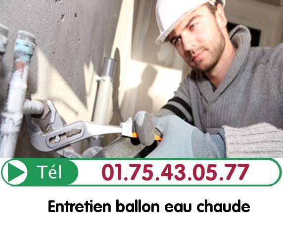 Depannage Ballon eau Chaude Montataire 60160