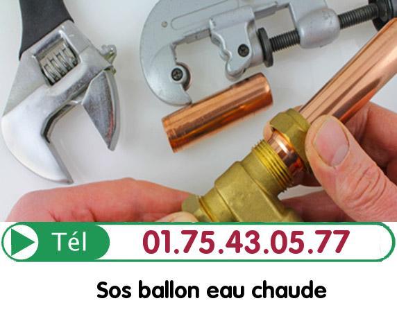 Depannage Ballon eau Chaude Paris 18