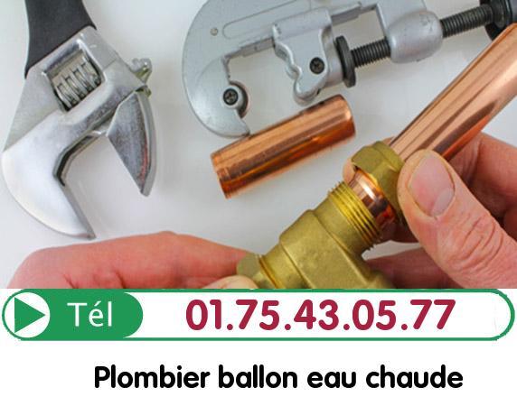 Depannage Ballon eau Chaude Paris 6
