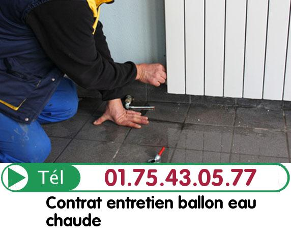 Réparation Ballon eau Chaude Paris 20